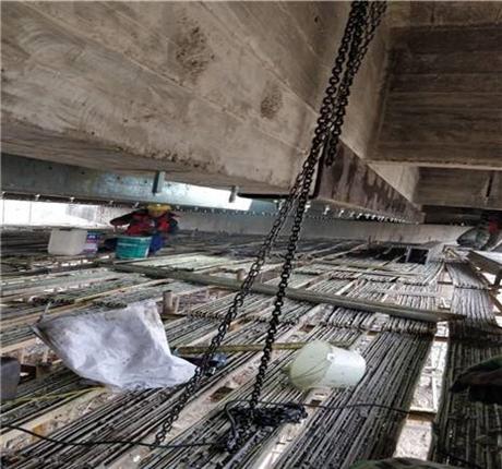 新闻:河池专业桥梁裂缝修补碳布加固众拓路桥