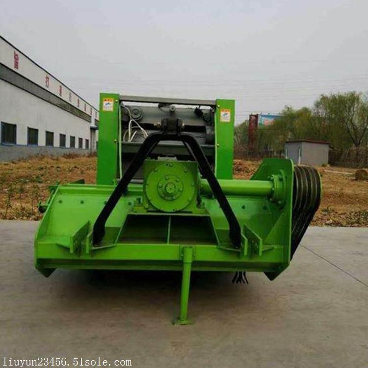 自走式玉米秸秆打捆机 自动捡拾打捆机 圆捆打捆机