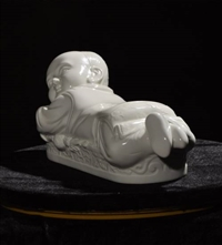 定窑婴儿枕拍卖近期价位