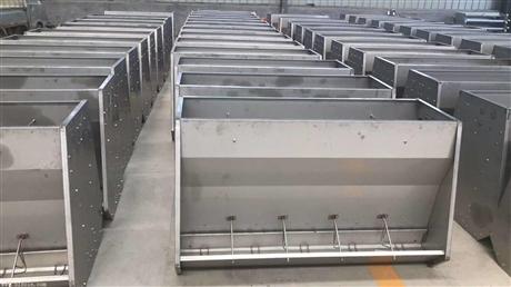 不锈钢料槽猪用采食槽喂食槽