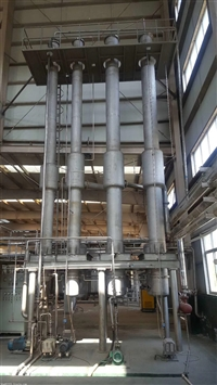 二手降膜蒸发器三效工作原理