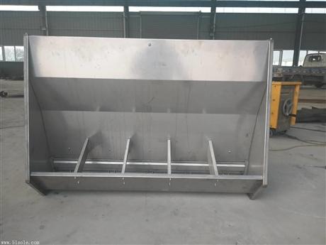 不锈钢料槽育肥双面料槽喂料槽