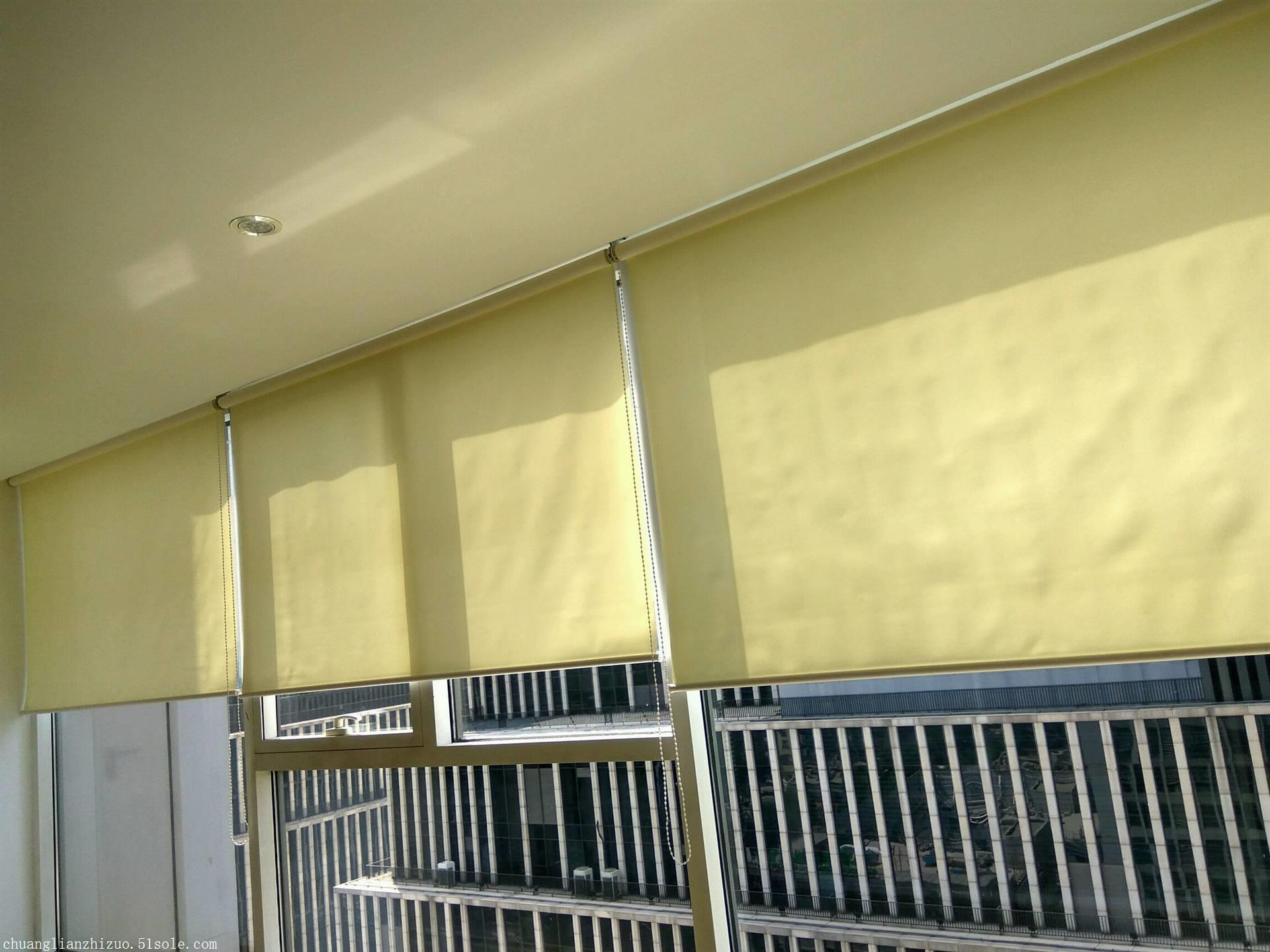 上门测量安装办公室窗帘 卷帘百叶窗帘遮光窗帘