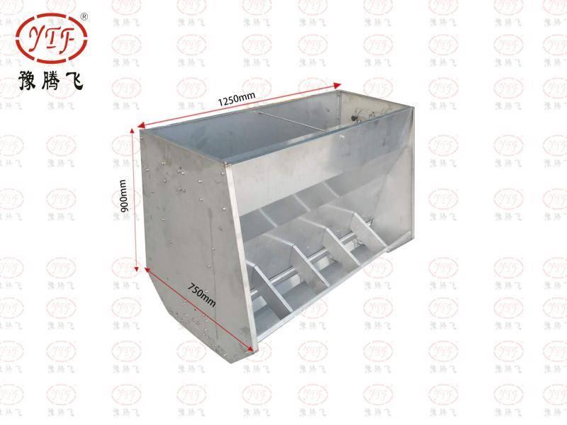 不锈钢保育料槽   喂食槽  采食槽 猪用料槽  豫腾飞