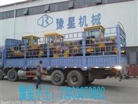内蒙羊场发酵羊粪使用豫星XGFD-2800型地面自走式履带翻堆机