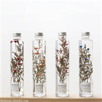炭草花浮游花瓶 永生花北欧工艺品摆件 促销情人节礼品