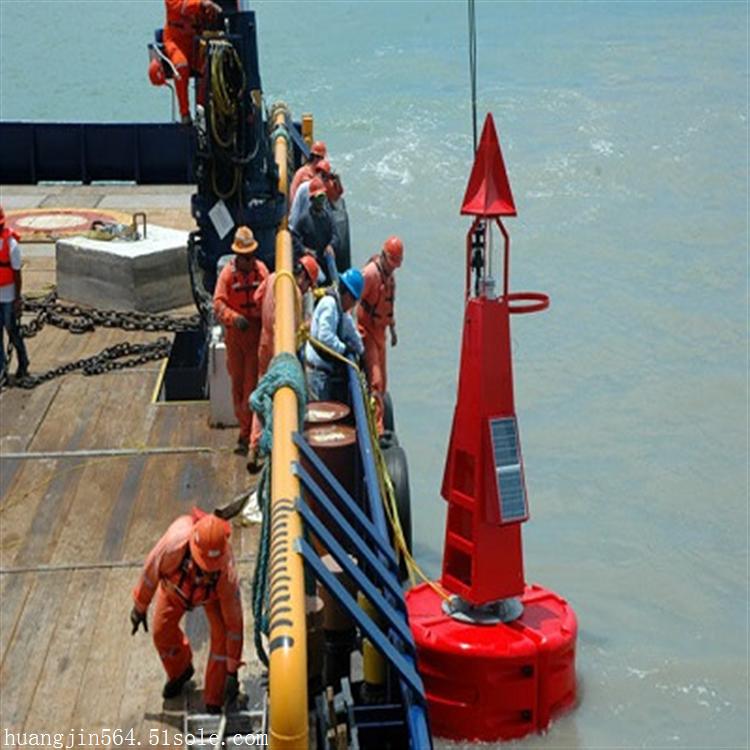 大型塑料警示航标耐撞击锚浮标批发