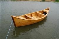 苏州手划船 欧式两头尖景观装饰船