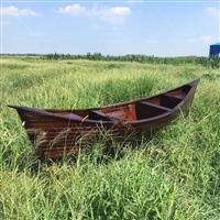 河南装饰船 景观装饰欧式船 水上游艺手划船