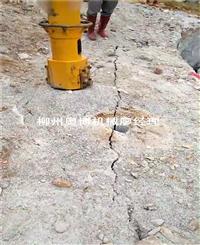 花岗岩开采推荐使用大型劈裂机