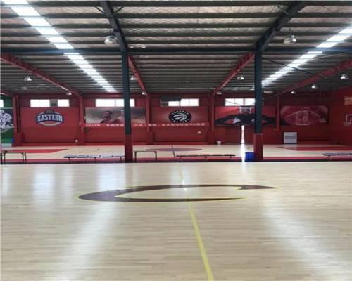 河北体育馆运动木地板厂家  篮球木地板包工包料