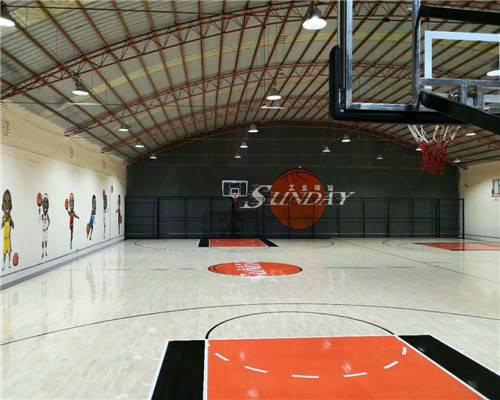 篮球木地板安装如何选择材料