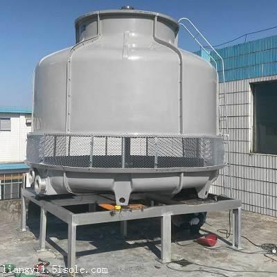 坡头冷却塔-湛江玻璃钢圆型逆流式冷却塔-粤良专业服务