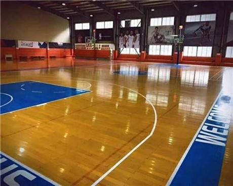 篮球馆木地板等级区分标志