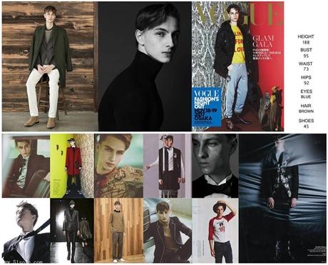 外模外籍模特男模特一手男模资源