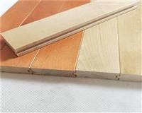 篮球馆木地板平米价格 篮球馆运动木地板多厚好