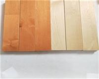 20厚硬木平口实木运动地板进口枫木A级面板
