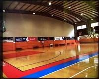 篮球馆木地板安装步骤细节 实木运动地板报价