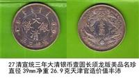 2018年清大清银币长须龙多少钱好卖