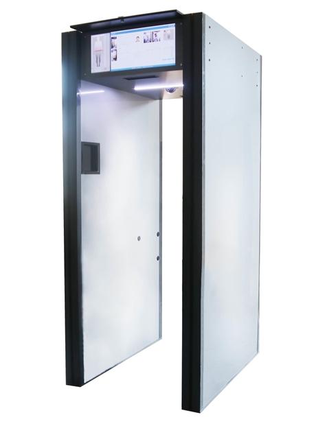 人脸识别安检门+身份证比对+金属探测自助式安检门
