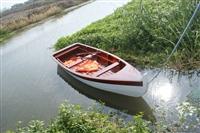 苏州观光欧式船 双人手划船 景观拍照船