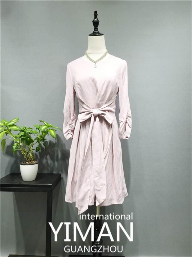 茜可可 17秋时尚高端 品牌女装尾货折扣批发 实体店开店必备货源