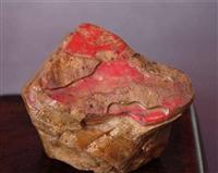 鸡血石原石摆件拍卖行情 价格信息