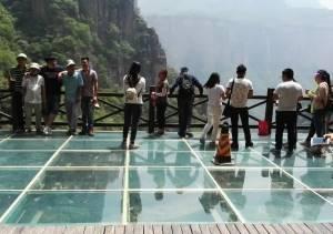 玻璃桥 玻璃吊桥 游乐设施 玻璃悬索桥 厂家直销
