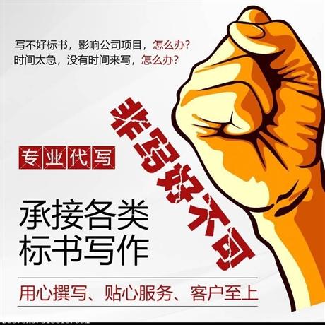 北京门头沟区专业做投标书的公司