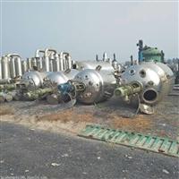 收购二手不锈钢反应釜 二手化工设备