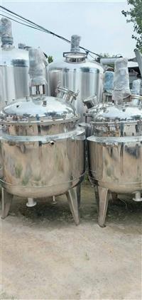 收购二手不锈钢反应釜 二手制药设备回收