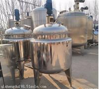 二手不锈钢反应釜 二手化工设备回收