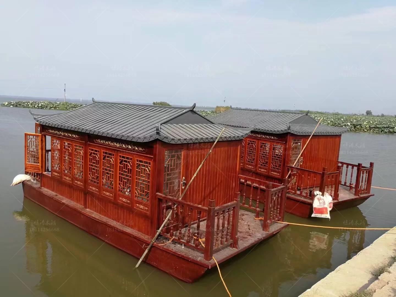 餐饮画舫船 精心制作的造船厂家 水上餐饮船服务