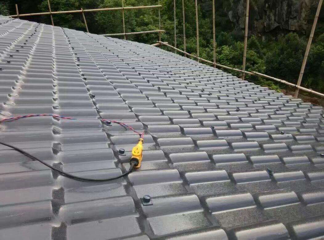 广东湛江树脂瓦,屋顶装饰瓦,钢结构塑料瓦厂家