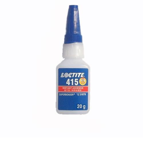 汉高乐泰415胶水Loctite瞬干胶不锈钢金属强力快干胶20g