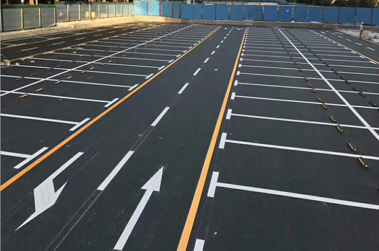 道路标识标线及地下停车场设施