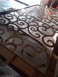 欧式不锈钢屏风不锈钢镂空,不锈钢花格定制