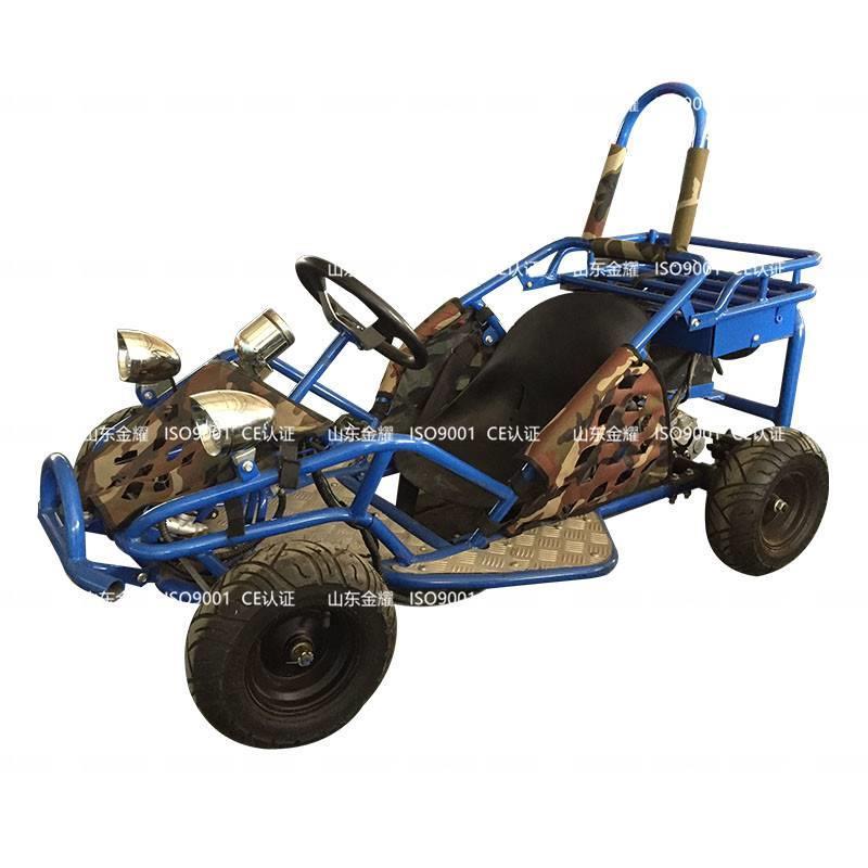 电动动力卡丁车玩于儿童冰雪乐园