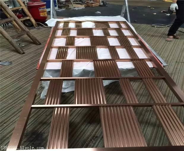 不锈钢屏风定做,不锈钢花格,镂空不锈钢隔断