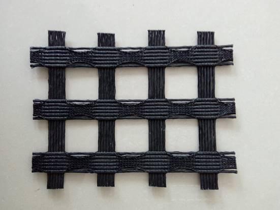 一米宽GCR/PET/BK200-200经编涤纶土工格栅