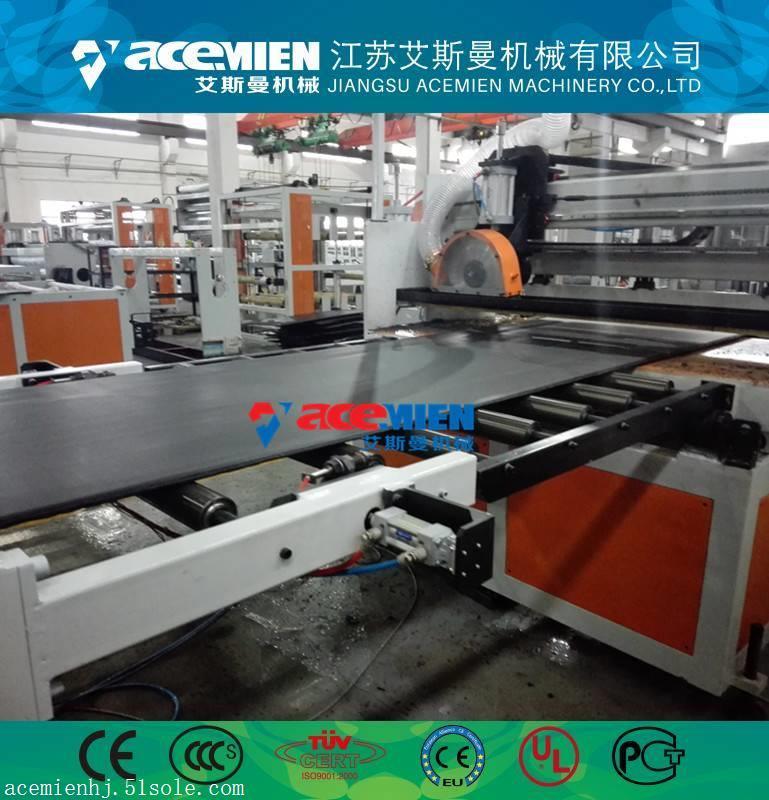 新型塑料中空建筑模板生产线、pp中空建筑模板生产线