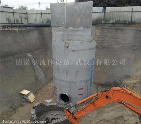 湖南  不锈钢污水提升泵站 大流量排水防汛泵站