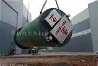 拉萨 玻璃钢一体化泵站 地埋式污水排放泵站