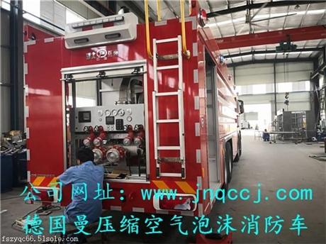 唐山市客户青睐的10吨水罐消防车