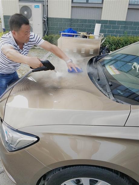 速爽上门洗车在未来蒸汽洗车行业中必定能够大放异彩