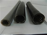 Φ25黑色雙扣不銹鋼包塑金屬軟管