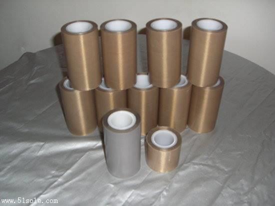 厂家供应铁氟龙薄膜胶带 特氟龙胶带 热封口机胶布 高温薄膜胶布