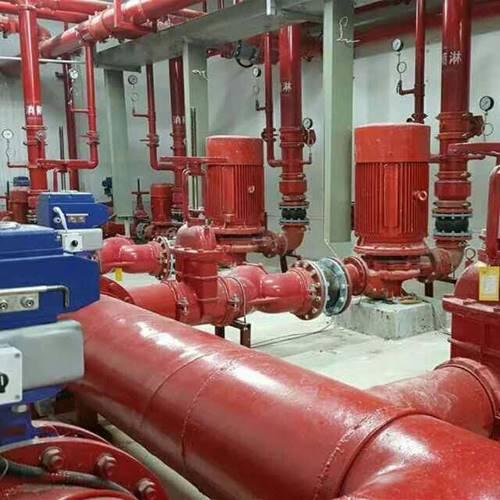 多级消防喷淋泵 多级消防自动喷淋泵90KW报价