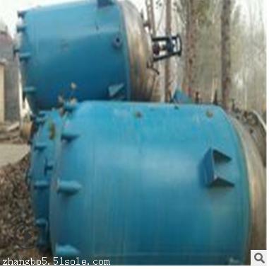 二手反应釜10吨5吨3吨2吨2吨二手不锈钢反应釜,二手搪瓷反应釜