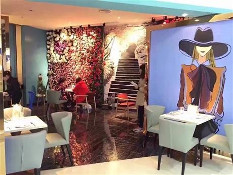 广州餐厅彩绘 定制墙绘 墙绘公司哪家好 追梦墙绘